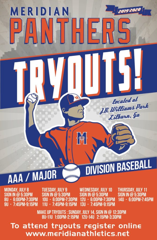 Meridian Athletics Tryouts